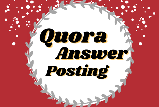 Get traffic in your website with 5 HQ Quora answers