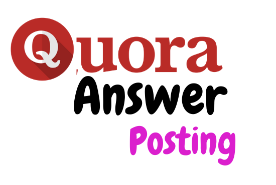 I'll do promote your website with 3 Unique Quora answers