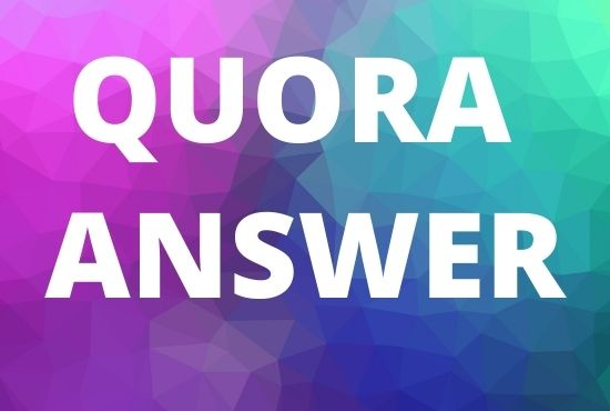 GET 15 unique Quora Answer With SEO Clickable High Quality Backlinks