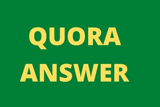 20 High Quality Quora Answers to your targeted traffic