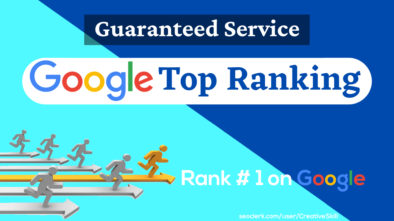 I will optimize your website for google top ranking by advance SEO service