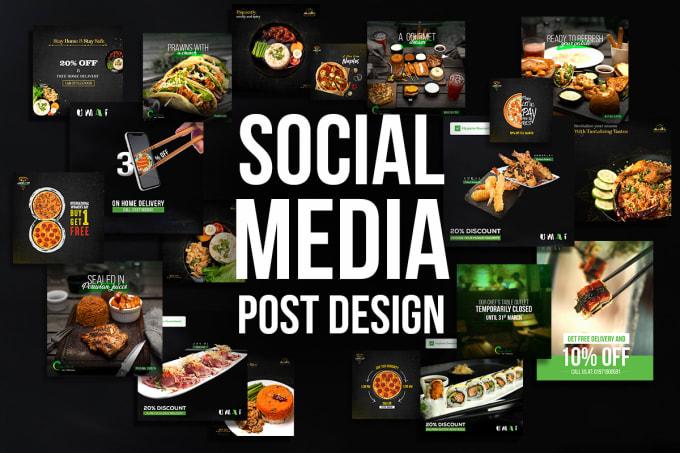 I will do creative social media design,  post,  banner etc