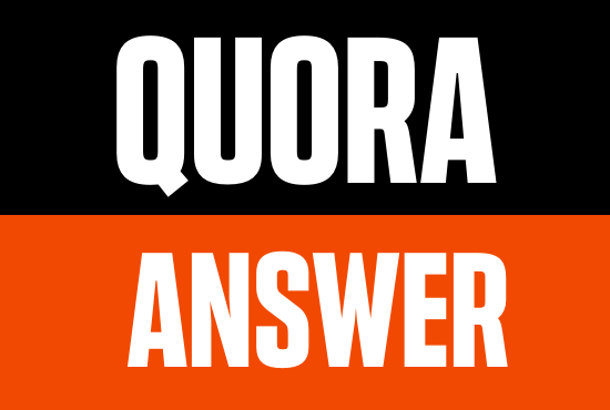 Promote your Business and Website 30 High Quality Quora Unique Answer Backlink