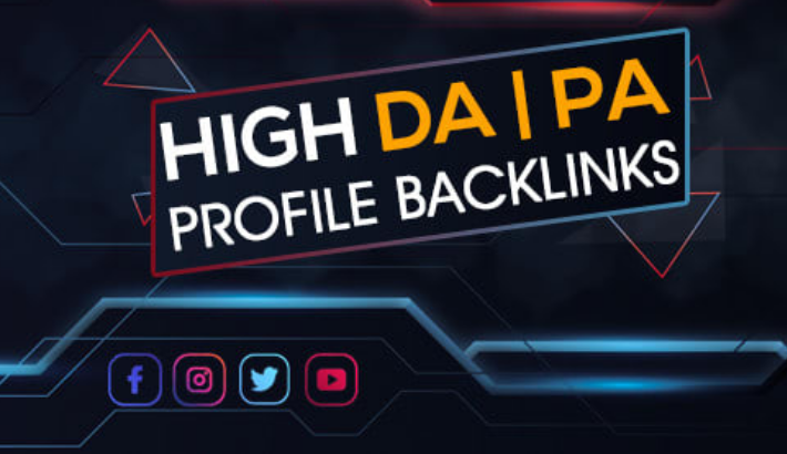 increase your domain authority DA 90+ high quality 15 profile backlink