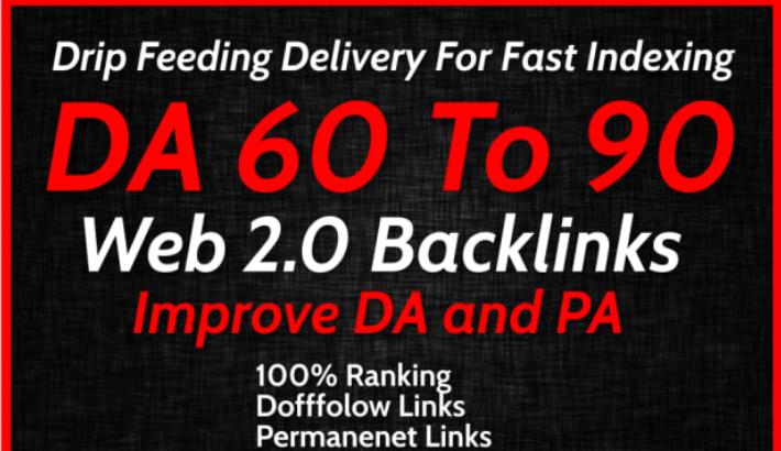 I will create 10 web 2.0 seo dofollow backlinks service