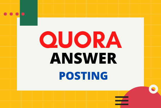 Promote your business or website 5 unique high quality Quora Answer