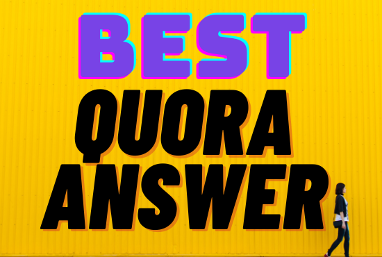 Give you 10 Quora Answer posting