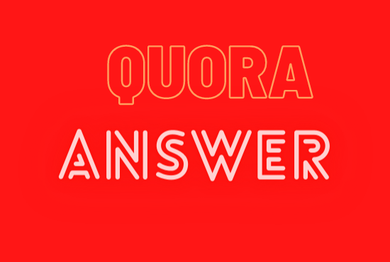 I give 5 High Quality Quora Answer with Keyword and URL