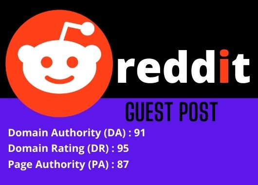 Promote your website by publishing 5HQ Guest Post on reddit. com