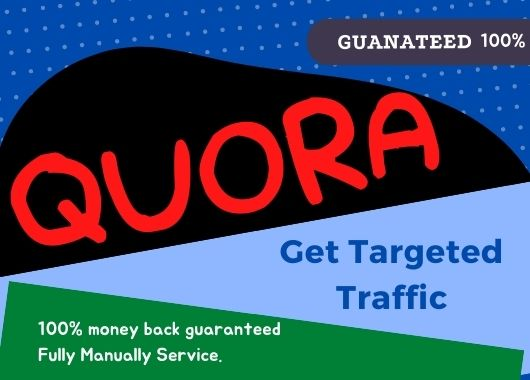 I will provide 15 Quora question answer with backlink for your website