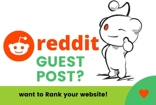 Promote Your Website with 5 Best Quality Reddit Guest Post