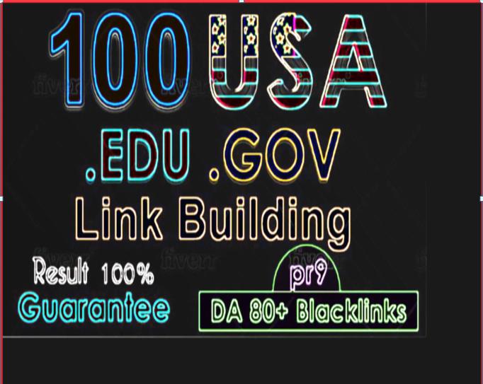 Manually Create 50 Edu/Gov and 20+ High DA PR9 Backlinks For Google top rank.