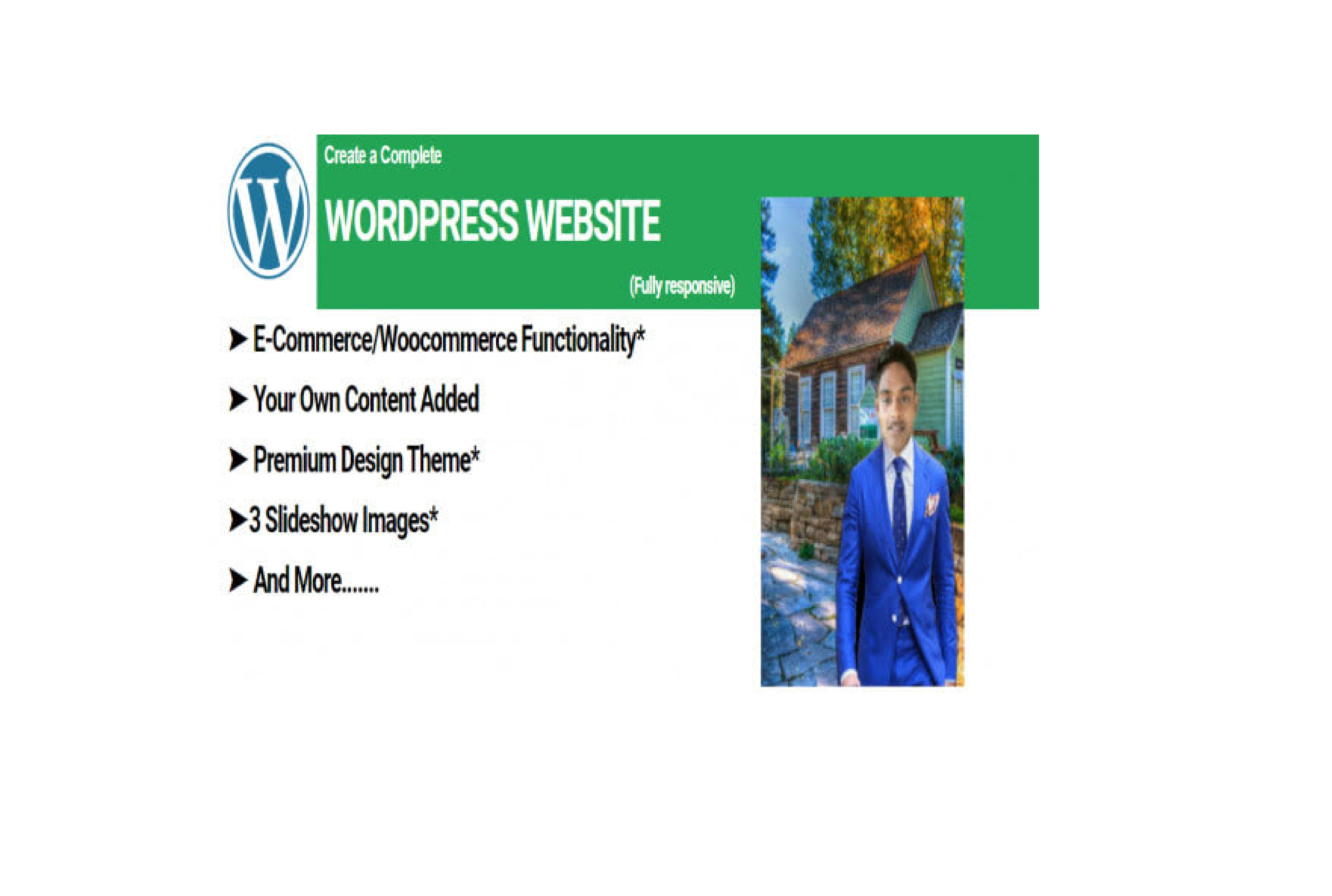 I will design business or ecommerce,online store wordpress website in woocommerce 24hr