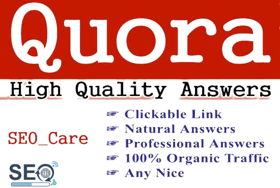 Promote your website 20+ Powerful Quora Answer with contextual link