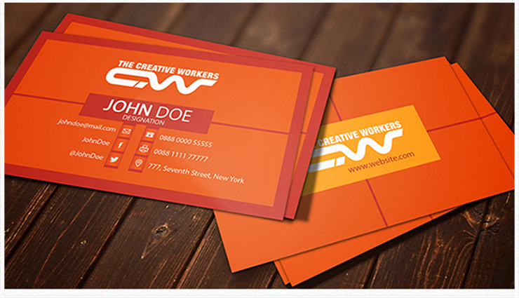 I will design Attractive professional business card