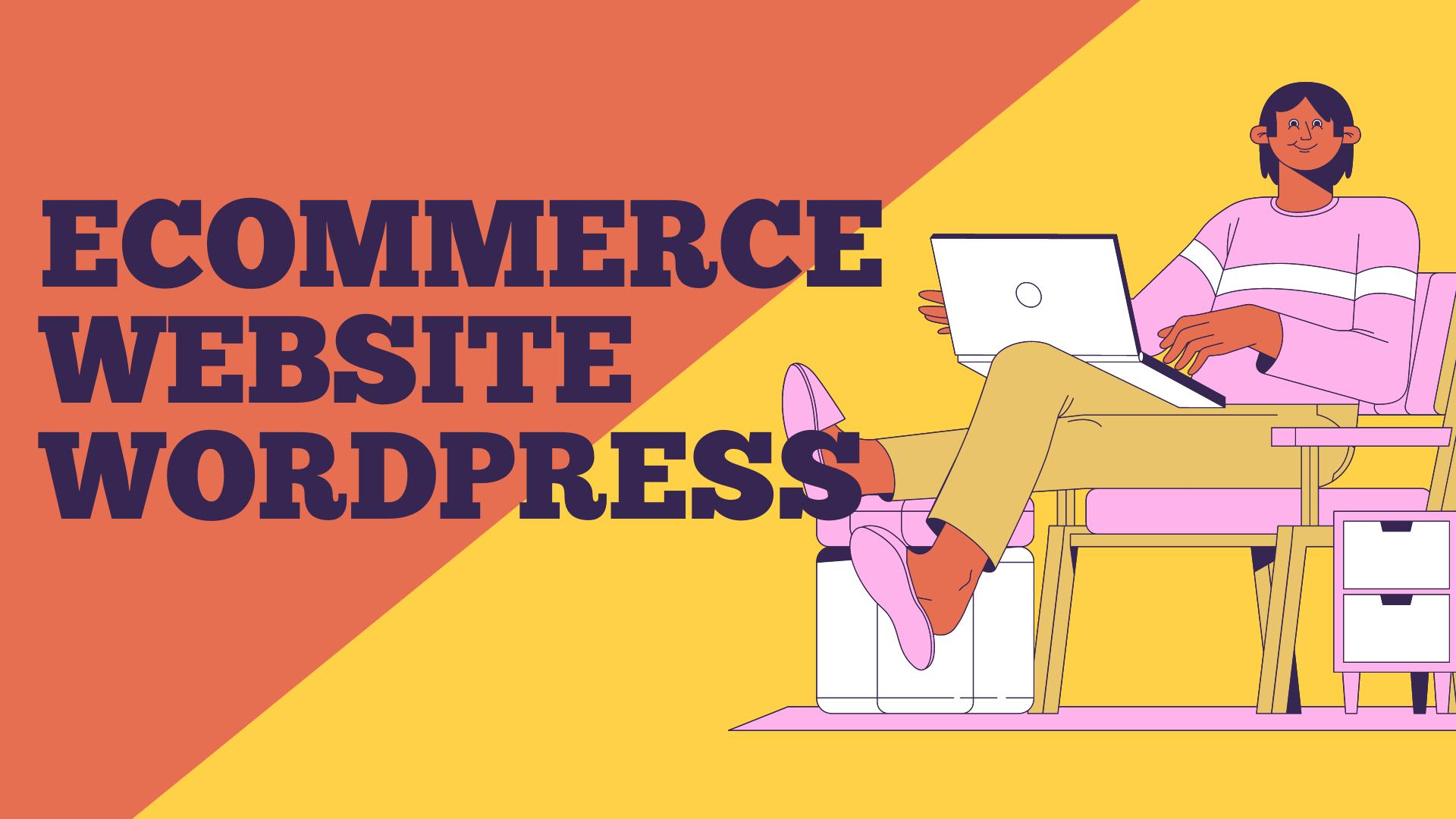 Ecommerce Website In wordpress