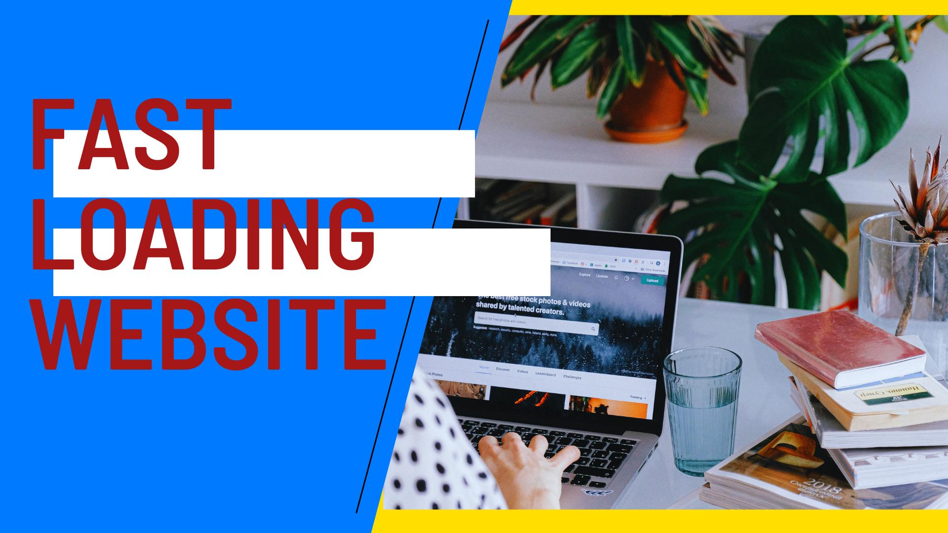 Fast Loading Website in WordPress Gutenberg