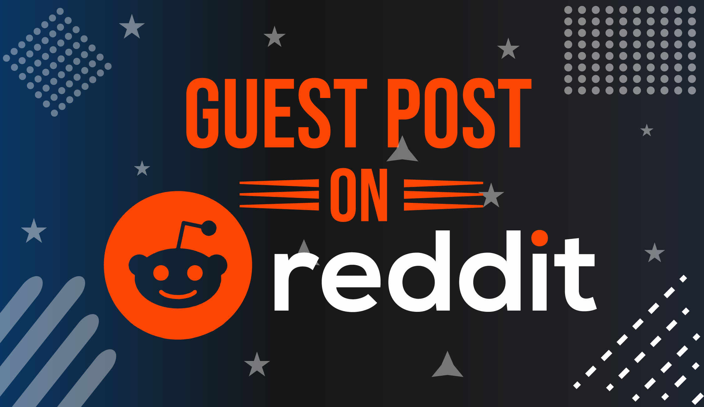 I Will Write And Publish 10HQ Guest Post On Reddit. com with Backlink