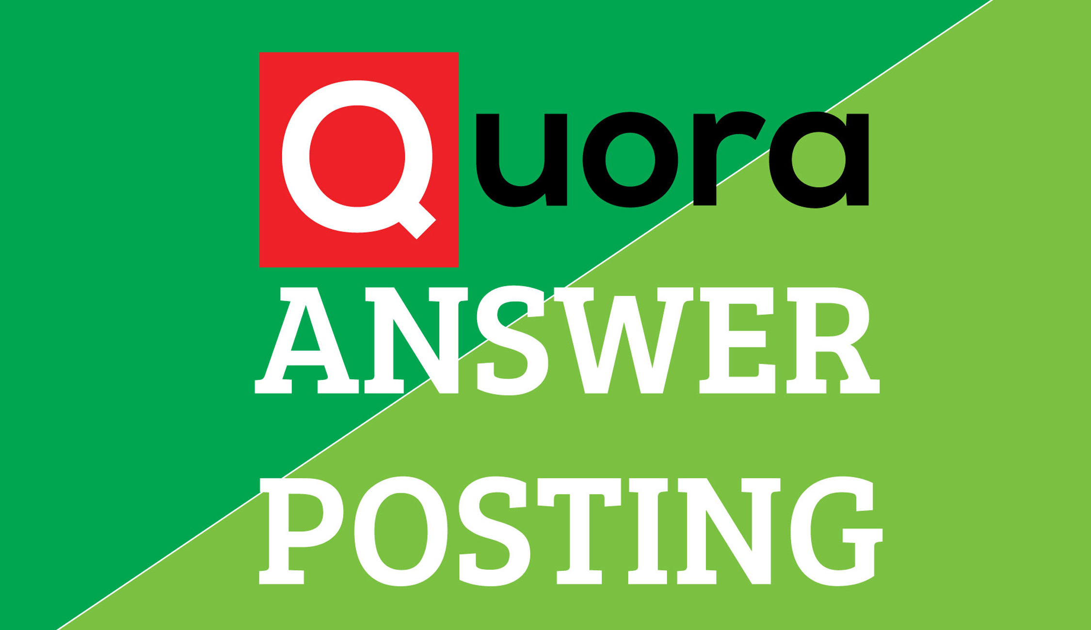 Promote your website by using 3 HQ Quora Answers for targeted traffic with keyword & URL