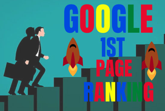 Skyrocket guaranteed Ranking services lift up your Website on Google 1st Page