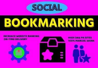 25 social bookmarking High authority backlinks & improve your website ranking
