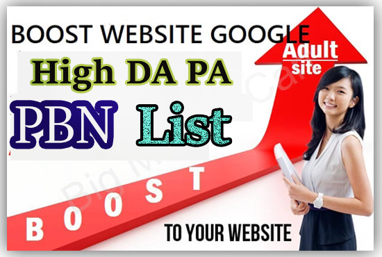 I will boost 15 web2.0 Niche PBN List for your Adult website google fast page rank