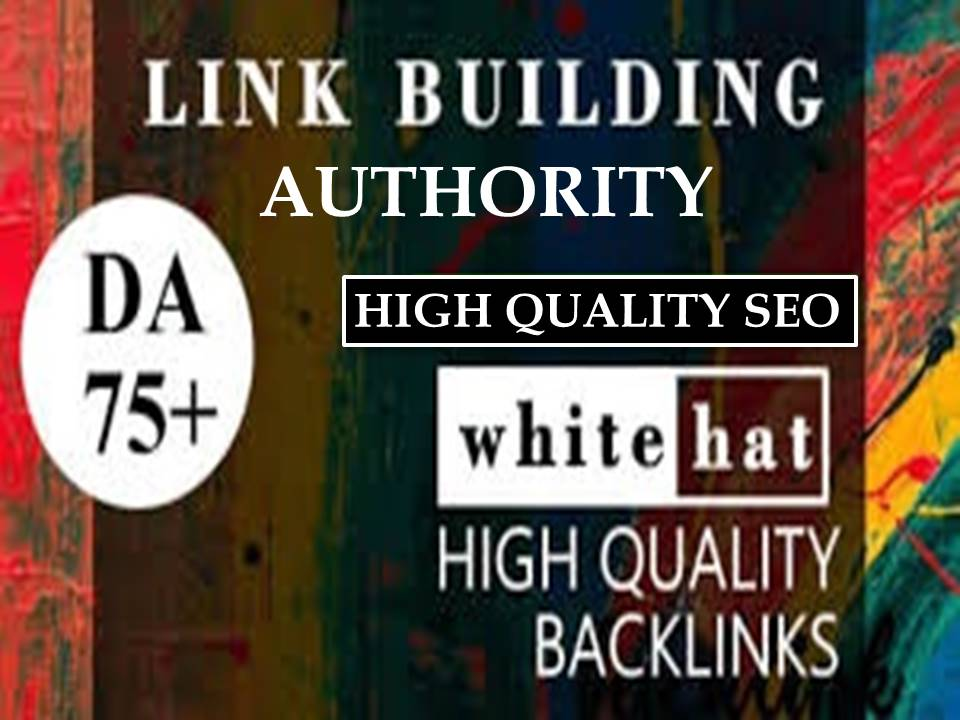 I will build 42 high authority SEO backlinks service,  USA link building