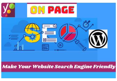 I will do yoast wordpress SEO on page optimization