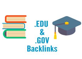 Do 200 high da quality edu gov backlink sites manually