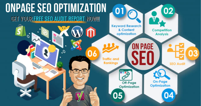 SEO and technical onpage optimization of wordpress website with yoast