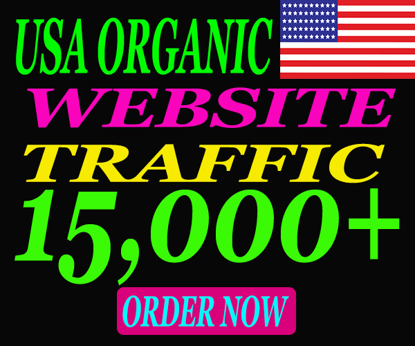 Send 15000 real traffic from USA. Limited Time Offer Grab It Now.