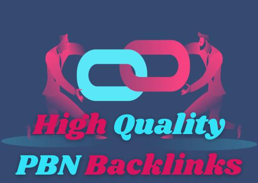 Build 20 High PA DA TF CF Homepage PBN Backlinks - Do follow Quality Links.