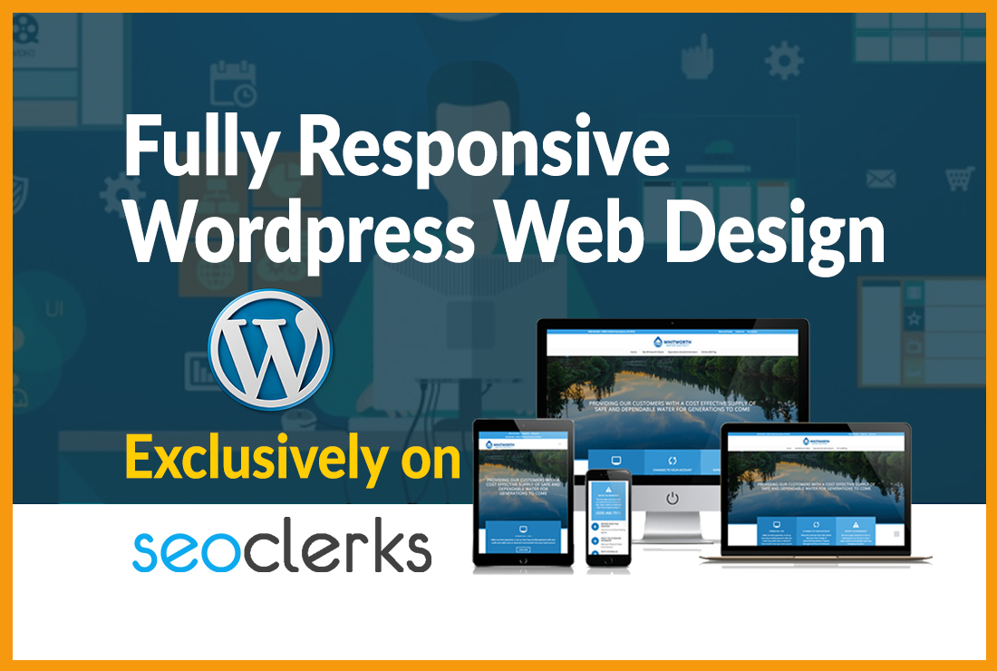 I will build or redesign a worldclass wordpress website,  web design for your business