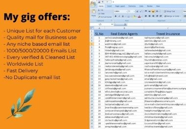 I Will Do Targeted Email Collecting For your Business