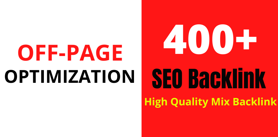 I will do high quality mix off page SEO unique domain backlinks