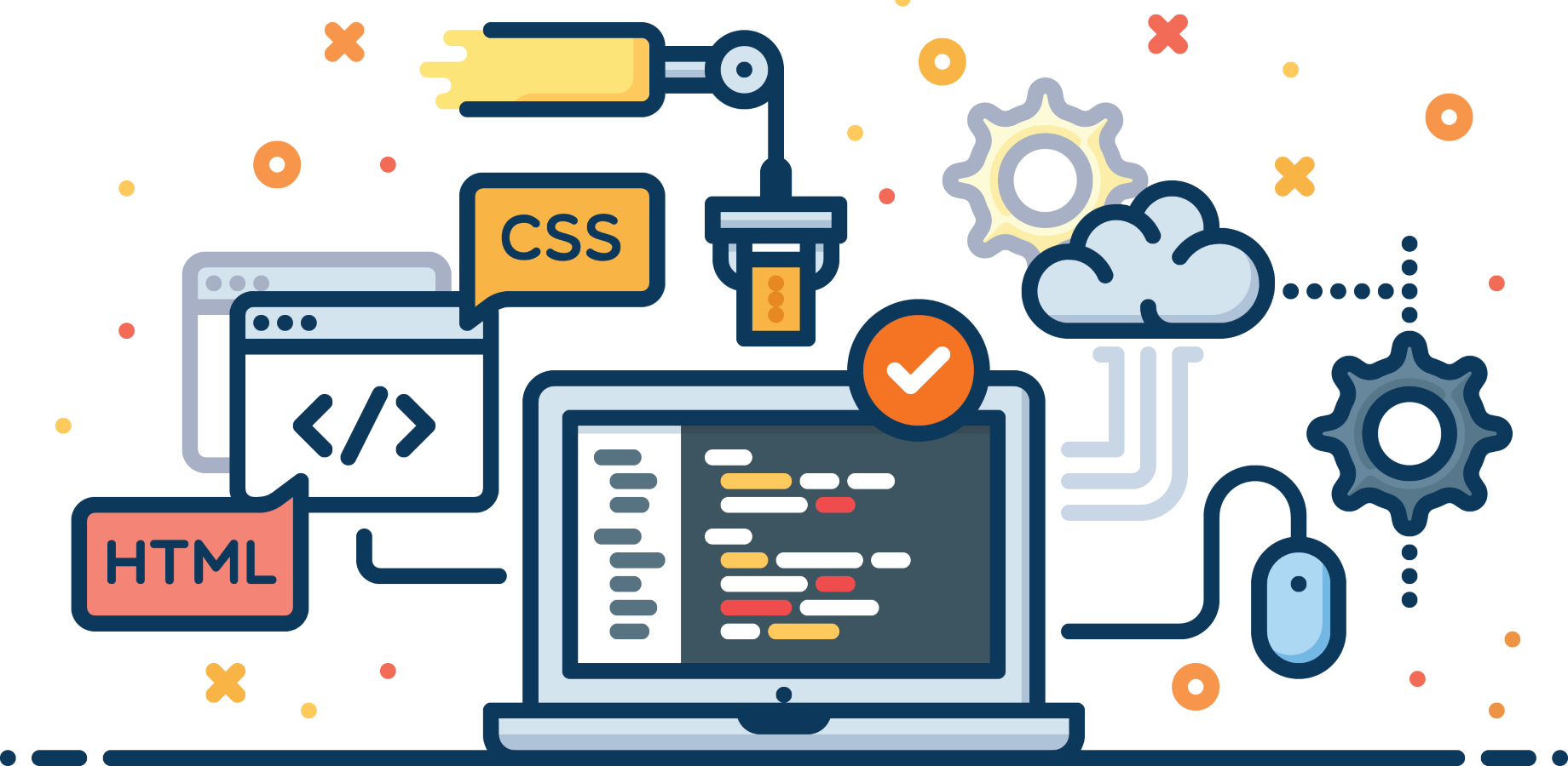 Will be your front end web developer