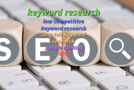 Profitable keyword research service for any niche