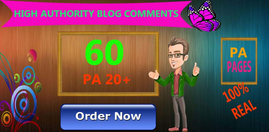 I will skyrocket your websites with 60 High PA/DA TF/CF Blog C0mments
