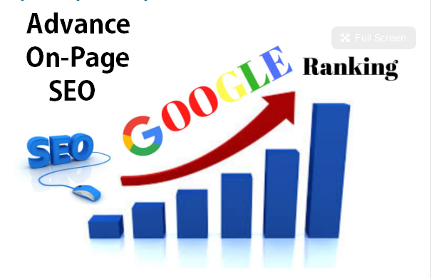 Advance On Page SEO Optimization For Google Top Ranking With Organically Traffic