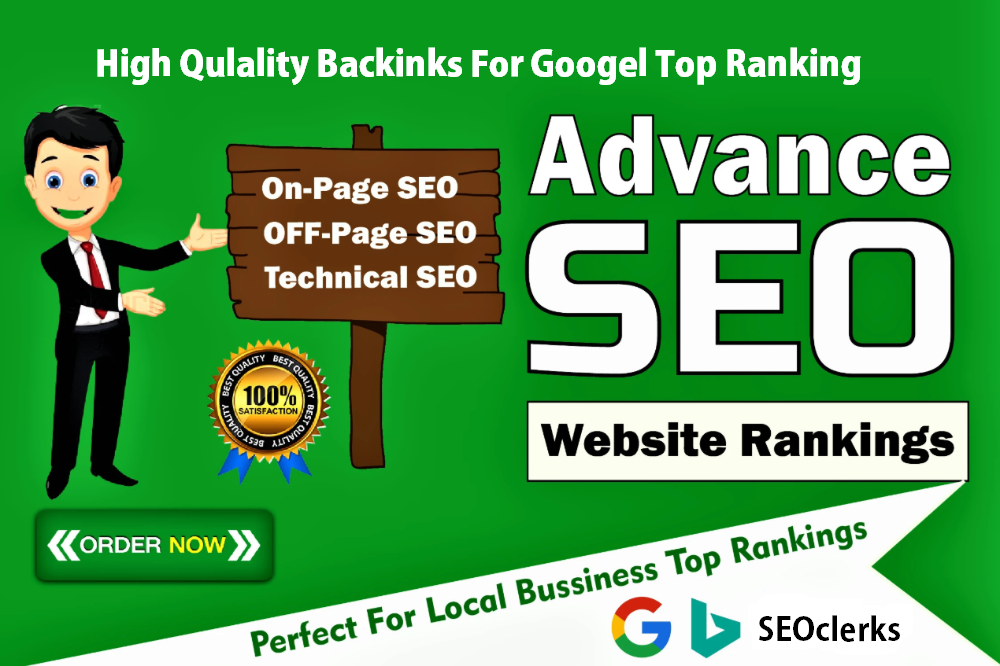 Monthly SEO Service With High Quality Do-Follow Backlinks For Google Top Ranking