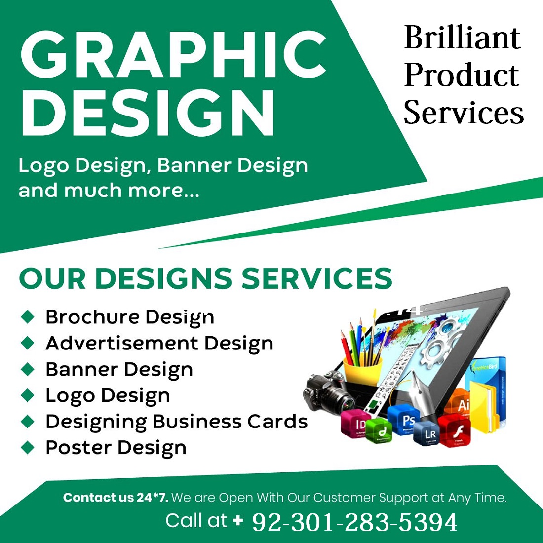 i will do Graphics Design Services