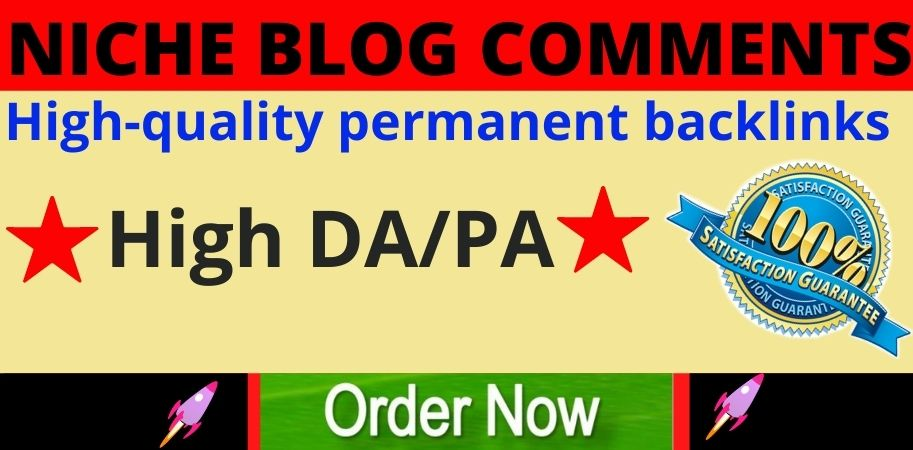 Manually do 50 Niche Relevant Blog Comments Backlinks