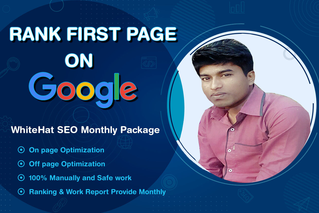 I will rank your website on google first page