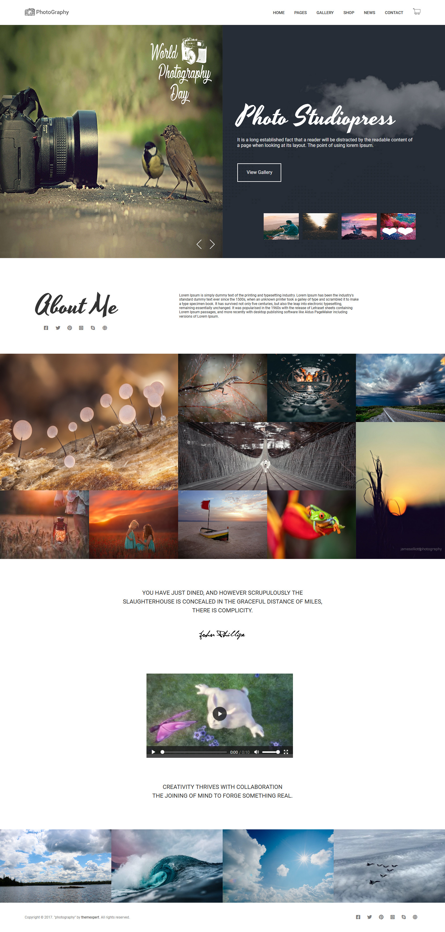 I'll Create Modern Landing Page PSD to HTML