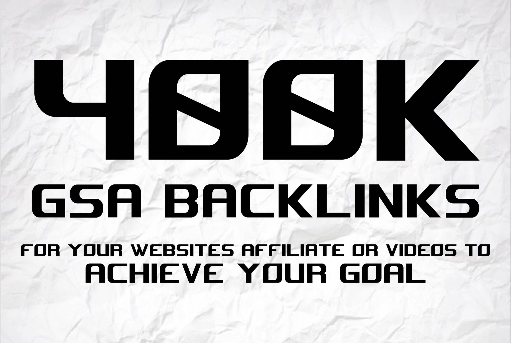 I will build 400000 GSA backlinks for boost serps,  seo solutions
