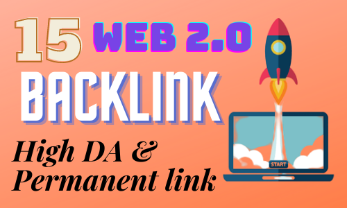 I will build up 15 handmade web 2.0 backlinks