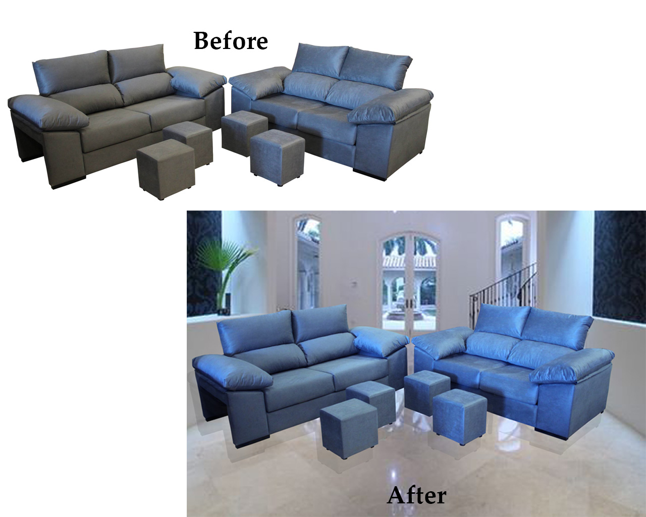 I will do background remove, retouch and resize