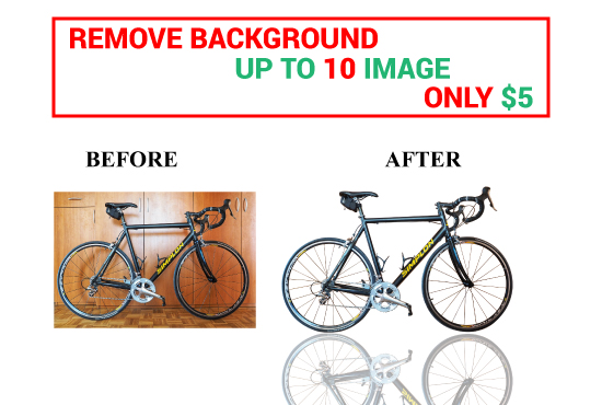 I will do amazon product background remove & clipping path service