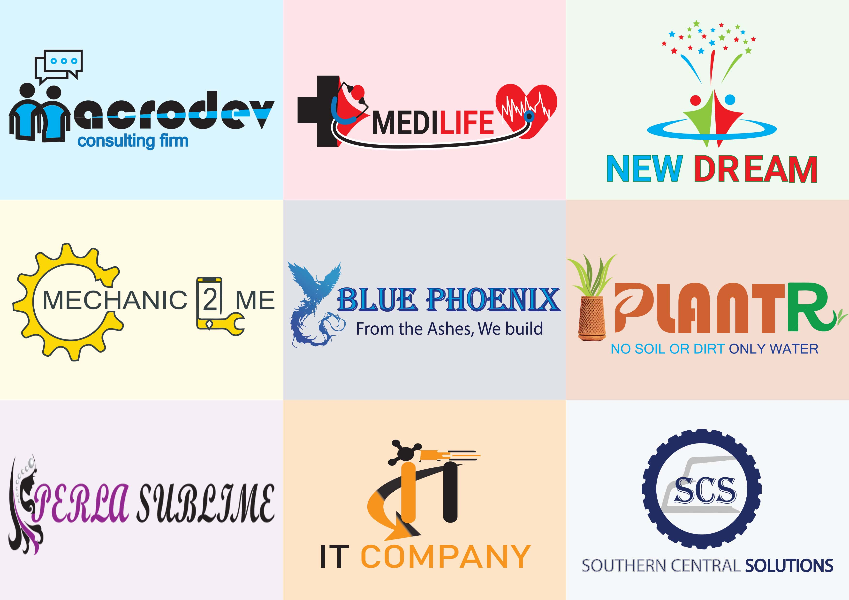 I will design logo for your business,  stationery and social media kit
