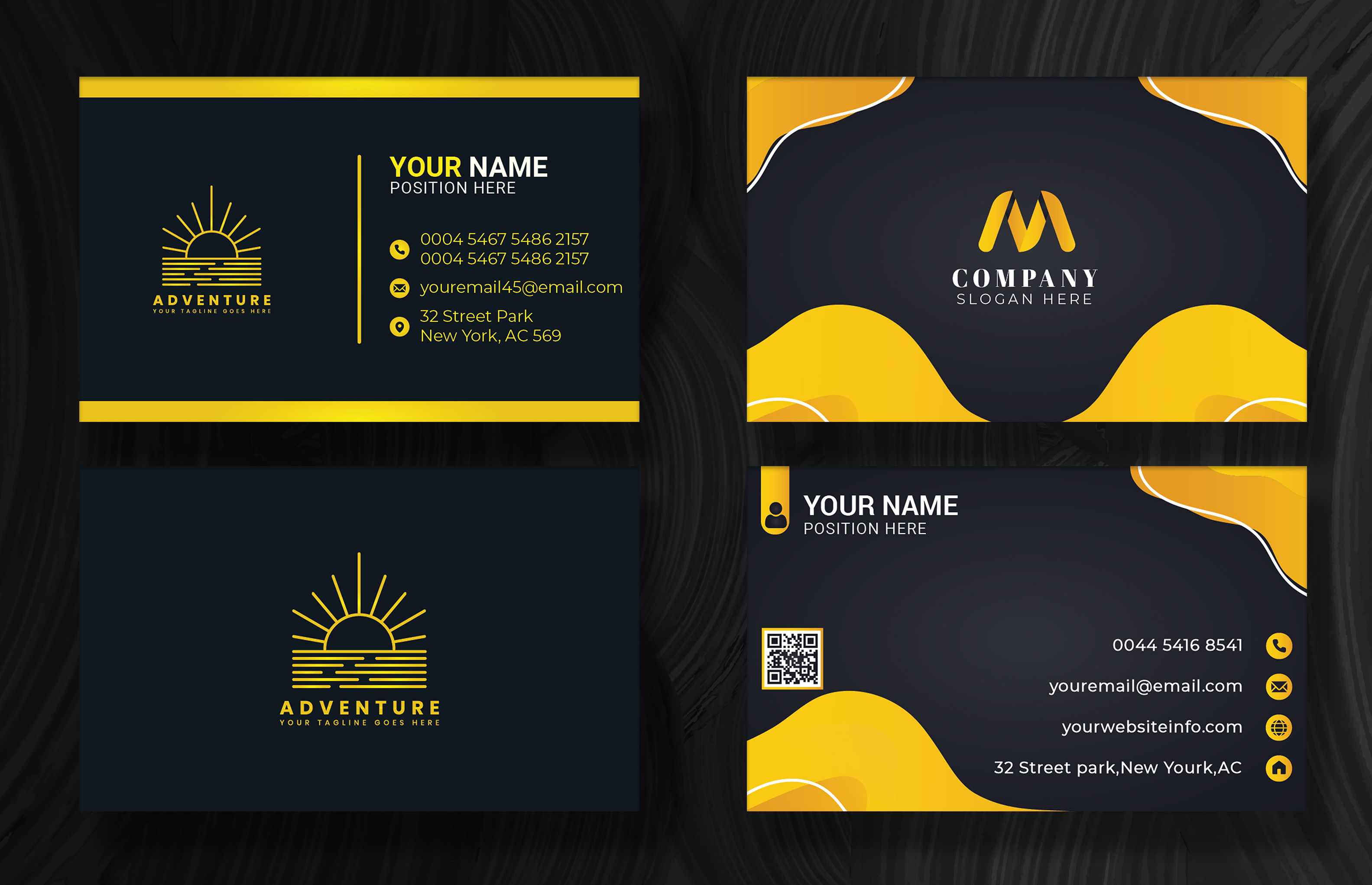 I will design professional,  unique business card with modern look